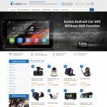 Mẫu website bán camera - BH13 - Trang chủ