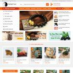 Mẫu website bán đồ phong thủy - BH12 - Trang chủ