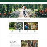 Mẫu website shop cây kiểng và dụng cụ giống như Landscaping