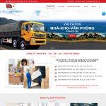Mẫu website Dịch vụ chuyển nhà giống ThanhHungSG - DN03 - Trang chủ