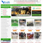 Mẫu website bán đồ cũ - BH15 - Trang chủ