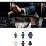Mẫu website bán đồng hồ thời trang - BH27 - Trang chủ