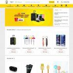 Mẫu weMẫu website bán phụ kiện công nghệ - BH29-Trang chủbsite bán phụ kiện công nghệ - BH29