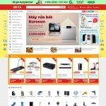 Mẫu website bán tổng hợp giống meta.vn - BH23 - Trang chủ