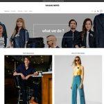 Mẫu website shop bán quần áo online - BH26 -Trang chủ