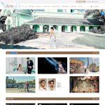 Mẫu Website Studio Áo cưới - ST01 - Trang chủ