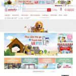 Website bán sản phẩm thú cưng giống Petcity - BH21 - Trang chủ
