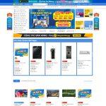 Giao diện mẫu website giống dienmayxanhcom - Trang chủ