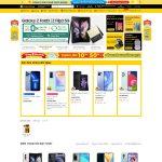 Giao diện mẫu website giống Thegioididongcom chuyên nghiệp - Trang chủ